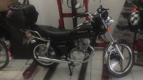 suzuki gn 125f un fierrazo de moto !!! como nueva, garantía.