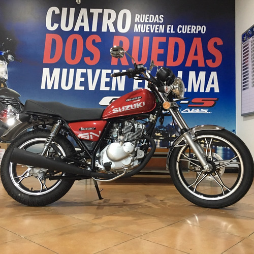 suzuki gn125 nova - financiación