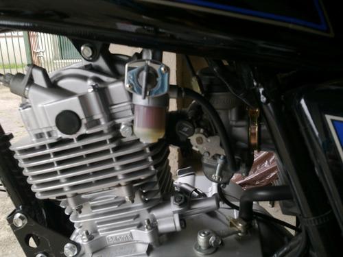 suzuki gn125h-ruedas sin camaras!! lista para viajar- unica!