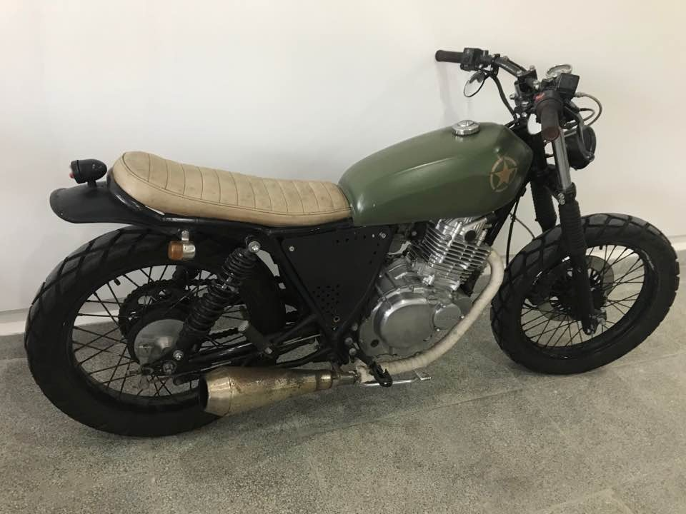suzuki gn250 cafe racer. Black Bedroom Furniture Sets. Home Design Ideas