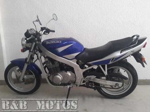suzuki gs 500 2002 azul n cb 500 hornet xj6 n