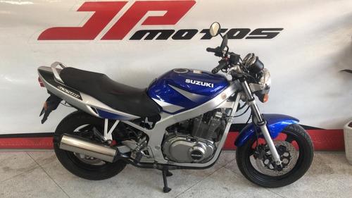 suzuki gs 500 e 2004 azul