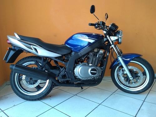 suzuki gs 500 e 2009 azul