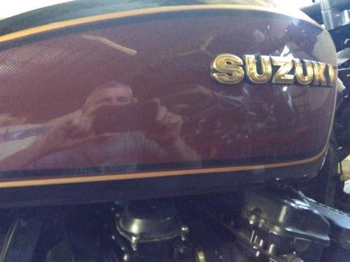 suzuki  gs1150e liquido por viaje. oportunidad cafe racer