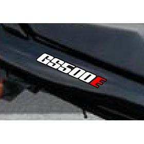 Suzuki Gs500e Gs 500 E Gs 500 Gs500 Par Adesivo Rabeta