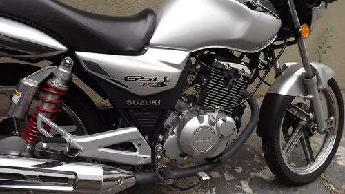 suzuki gsr 125 s 2016 prata