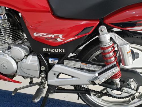 suzuki gsr 125s 2016 só 8.000kms