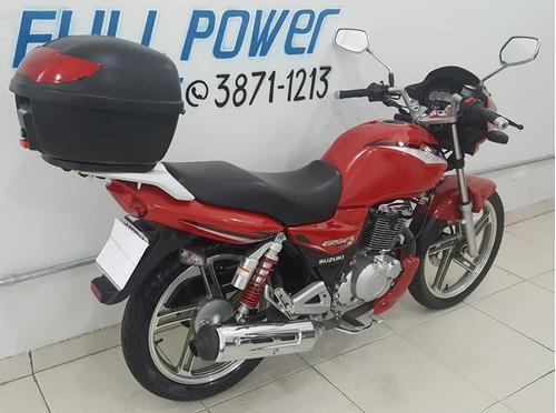 suzuki gsr 125s 2016 vermelha