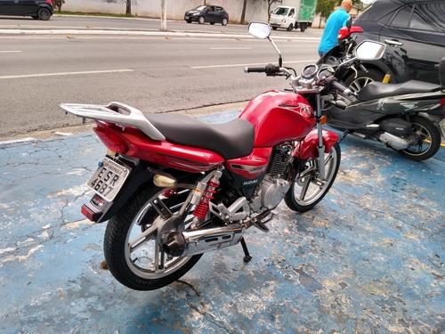 suzuki gsr 150 i 2013 vermelha troca financia cartão nova!!