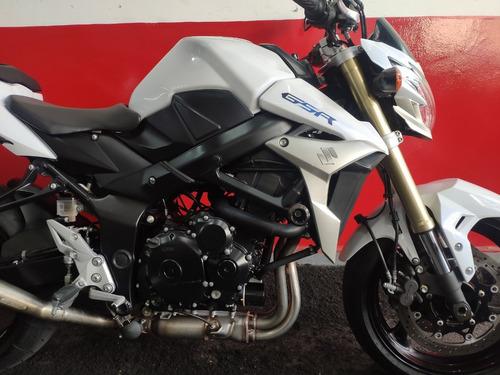 suzuki gsr 750 abs 2014 branca branco