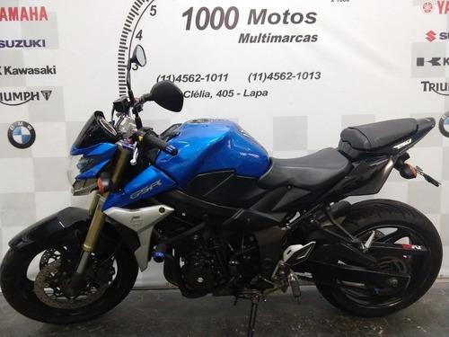 suzuki gsr 750 abs 2015 otimo estado aceito moto