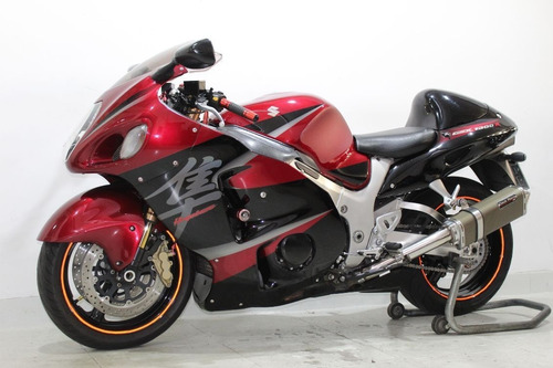suzuki gsx 1300 r hayabusa 2007 vermelha