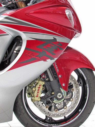 suzuki gsx 1300r hayabusa - 2019 vermelha - baixo km