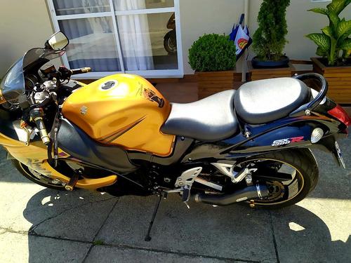 suzuki gsx 1340r hayabusa 2011 dourada - impecável