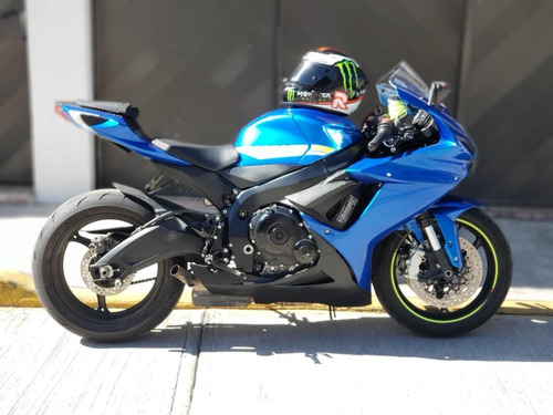 suzuki gsx-600 2018, motor 600 azul acero