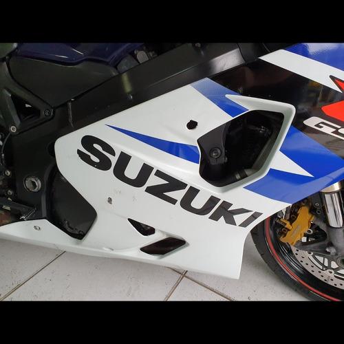 suzuki gsx 750r 2005, repasse, abaixo da tabela