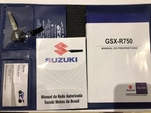 suzuki gsx 750r srad 2016