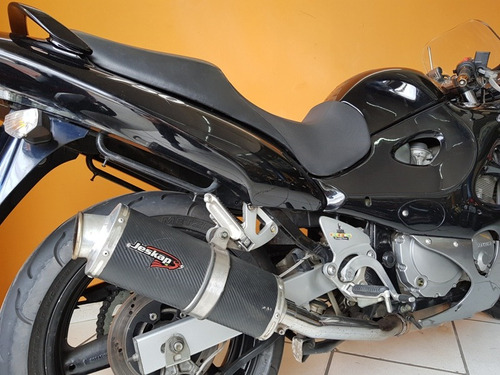 suzuki gsx - f 750 2007 preta