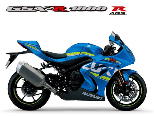 suzuki gsx r 1000 r 2018/2019 0km azul