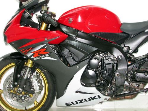 suzuki gsx r 750  2016 vermelha