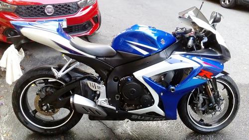 suzuki gsx-r 750 srad 08/08 azul