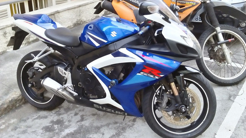 suzuki gsx-r 750 srad azul 2008