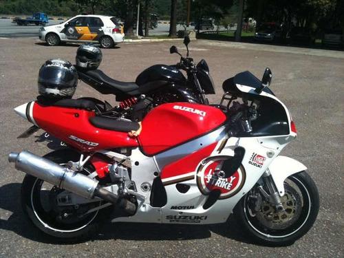 suzuki gsx-r 750 srad para andar na rua ou pista trackday