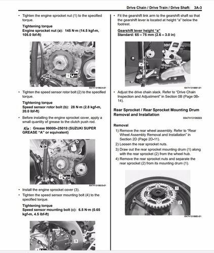 suzuki gsx-r1000 (2009) manual de servicio