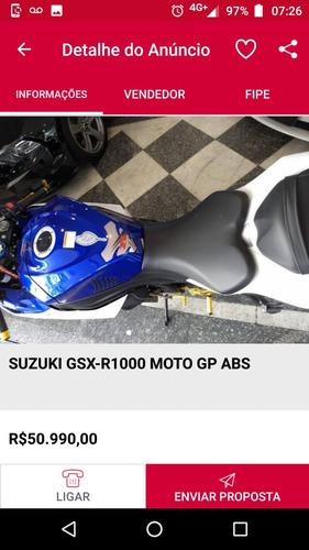 suzuki gsx r1000 moto gp 2016 aceito troca