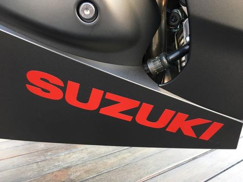 suzuki gsx-r1000a (srad) 2018/2019 preta - 0km