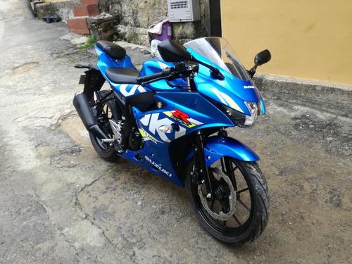 suzuki gsx-r150 2020 azul