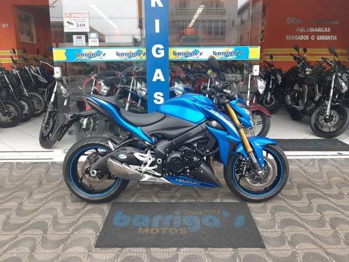 suzuki gsx s 1000a abs 2016 azul impecável