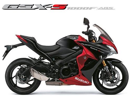 suzuki gsx-s 1000f abs 2018/2019 vermelha