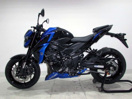 suzuki gsx-s 750 a 2020 azul