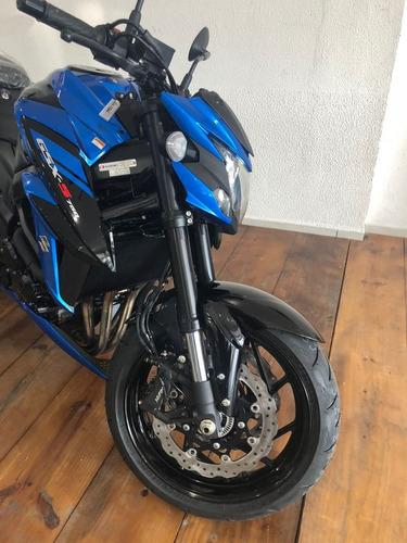 suzuki gsx s 750 azul modelo 2020 abs busca *hornet xj6 z750