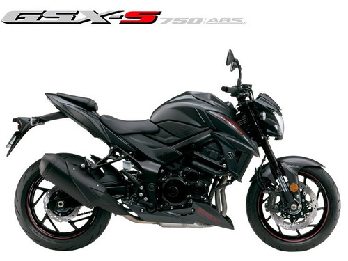 suzuki gsx-s 750a 2019/2020 preta - 0km