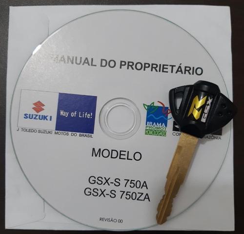 suzuki gsx-s 750a abs 2019 único dono