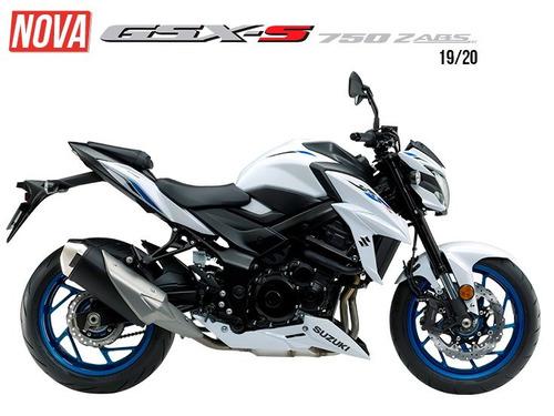 suzuki gsx-s 750za 2020 0km garantia de fábrica