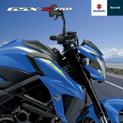 suzuki - gsx-s750 za