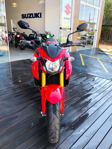suzuki gsx-s750a 2017/2018 vermelha