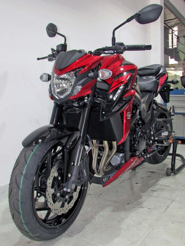 suzuki gsx-s750a  2020 vermelha
