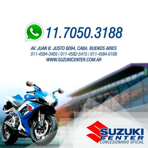 suzuki gsxr 1000r  0km l7  abs contado increible. consulta