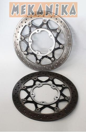 suzuki gsxr 600-750 06-07 discos delanteros freno. mekanika