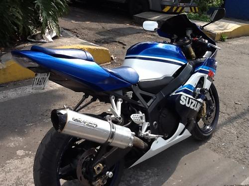 suzuki gsxr 600cc, mod. 2005.