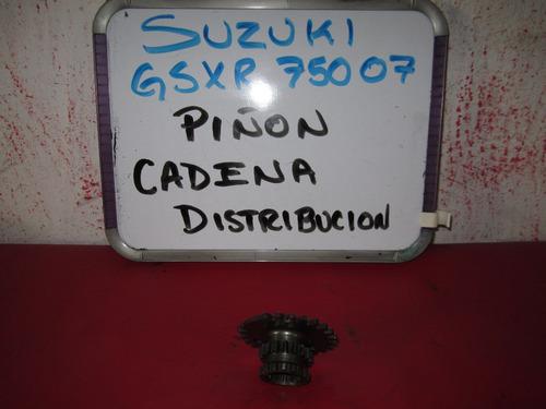 suzuki gsxr 750 2007 piñon cadena distribucion