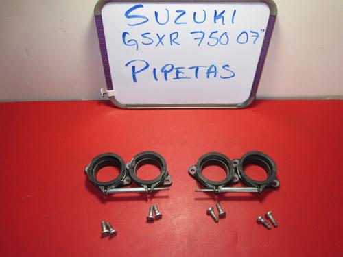 suzuki gsxr 750 2007 pipetas