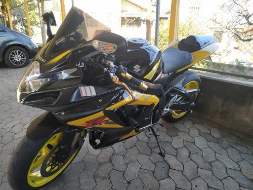 suzuki gsxr 750 srad 2007 amarela\preta único dono