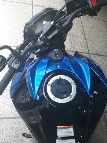 suzuki gsxs 750 abs 0km l8 stock azul  en suzukicenter