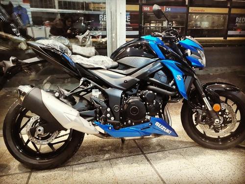 suzuki gsxs 750 azul abs 0km stock en suzukicenter