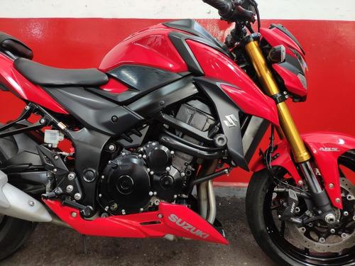 suzuki gsxs gsx s gsx-s 750 abs 2018 vermelha vermelho